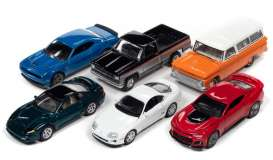 Assortment/ Mix  - various - 1:64 - Auto World - 64302B~6 - AW64302B | Toms Modelautos