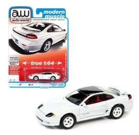 Dodge  - Stealth 1992 white - 1:64 - Auto World - SP063A - AWSP063A | Toms Modelautos