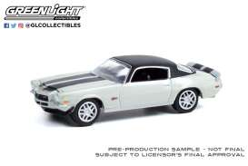 Chevrolet  - Camaro 1970 white - 1:64 - GreenLight - 39070C - gl39070C | Toms Modelautos