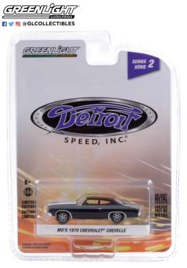 Chevrolet  - Camaro 1970 black - 1:64 - GreenLight - 39070D - gl39070D | Toms Modelautos