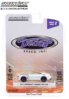 Chevrolet  - Camaro 2012 white - 1:64 - GreenLight - 39070F - gl39070F | Toms Modelautos
