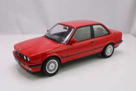 BMW  - 325i 1988 red - 1:18 - Norev - 18320x - nor18320x | Toms Modelautos