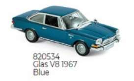 Glas  - V8 1967 blue - 1:87 - Norev - 820534 - nor820534 | Toms Modelautos