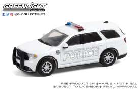 Dodge  - Durango 2018 white - 1:64 - GreenLight - 30268 - gl30268 | Toms Modelautos