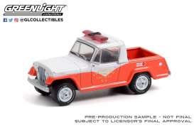 Jeep  - Jeepster 1967 red/white - 1:64 - GreenLight - 30269 - gl30269 | Toms Modelautos