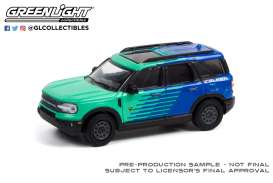 Ford  - Bronco 2021 blue/green - 1:64 - GreenLight - 30279 - gl30279 | Toms Modelautos