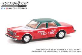 Dodge  - Diplomat 1983 red/black - 1:64 - GreenLight - 30283 - gl30283 | Toms Modelautos