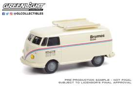 Volkswagen  - Type 2 white - 1:64 - GreenLight - 36030F - gl36030F | Toms Modelautos