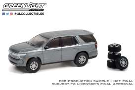 Chevrolet  - Tahoe 2021 satin steel - 1:64 - GreenLight - 97110E - gl97110E | Toms Modelautos