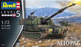 Military Vehicles  - M109A6  - 1:72 - Revell - Germany - 03331 - revell03331 | Toms Modelautos