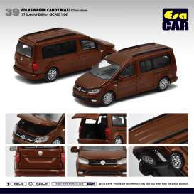Volkswagen  - Caddy Maxi brown - 1:64 - Era - VW20CamRF39 - EraVW20CamRF39 | Toms Modelautos