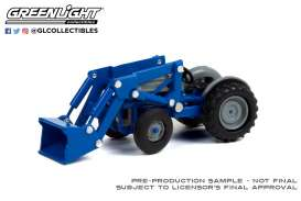 Tractor Ford - 1952 blue/grey - 1:64 - GreenLight - 48050A - gl48050A | Toms Modelautos