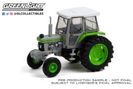 Tractor  - 1992 grey/green - 1:64 - GreenLight - 48050F - gl48050F | Toms Modelautos