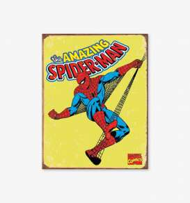Tac Signs  - Spiderman yellow/blue/red - Tac Signs - D1437 - tacD1437 | Toms Modelautos