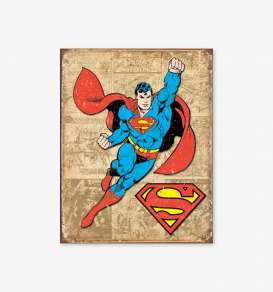 Tac Signs  - Superman beige/red/blue - Tac Signs - D1825 - tacD1825 | Toms Modelautos