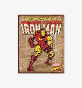 Tac Signs  - Iron Man beige/red - Tac Signs - D1886 - tacD1886 | Toms Modelautos