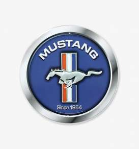 Tac Signs  - Mustang blue/silver - Tac Signs - RD97 - tacRD97 | Toms Modelautos