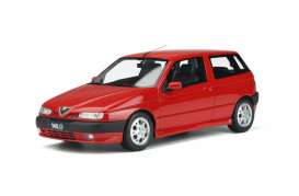 Alfa Romeo  - 145 1998 red - 1:18 - OttOmobile Miniatures - 361 - otto361 | Toms Modelautos