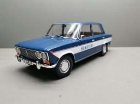 Lada  - 2103 1976 dark blue/white - 1:18 - Triple9 Collection - 1800264 - T9-1800264 | Toms Modelautos