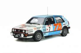 Volkswagen  - Golf Mk.2 1987 blue/white - 1:18 - OttOmobile Miniatures - OT852 - otto852 | Toms Modelautos