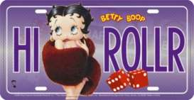 Funny Plates  - Betty Boop purple/red - Tac Signs - SOTT12055 - fun12055 | Toms Modelautos