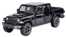 Jeep  - Gladiator Rubicon hard top 2020 black - 1:27 - Motor Max - 79368 - mmax79368bk | Toms Modelautos