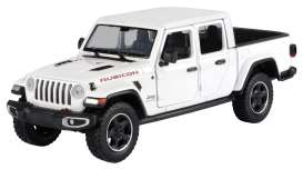 Jeep  - Gladiator Rubicon hard top 2020 white - 1:27 - Motor Max - 79368 - mmax79368w | Toms Modelautos