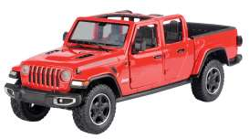 Jeep  - Gladiator Rubicon open top 2020 red - 1:27 - Motor Max - 79370 - mmax79370r | Toms Modelautos