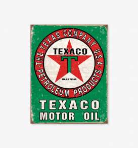 Tac Signs  - Texaco green/red - Tac Signs - D1927 - tacD1927 | Toms Modelautos