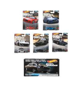 Assortment/ Mix  - F&F 2018 various - 1:64 - Hotwheels - GRM15 - hwmvGRM15 | Toms Modelautos