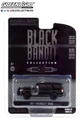 Chevrolet  - Tahoe 2021 black - 1:64 - GreenLight - 28070E - gl28070E | Toms Modelautos