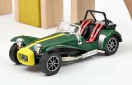 Caterham  - 1979 green/yellow - 1:43 - Norev - 270213 - nor270213 | Toms Modelautos