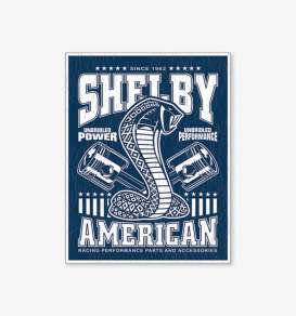 Tac Signs  - Shelby blue/white - Tac Signs - D2372 - tacD2372 | Toms Modelautos