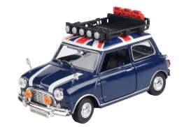 Mini  - Cooper blue/white/red - 1:18 - Motor Max - 79741 - mmax79741 | Toms Modelautos