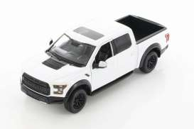 Ford  - F-150 Raptor 2017 white - 1:27 - Motor Max - 79344D - mmax79344w | Toms Modelautos