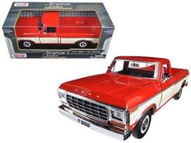 Ford  - 1979 red - 1:24 - Motor Max - 79346C - mmax79346rwh | Toms Modelautos