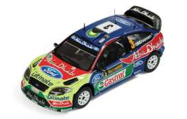 Ford  - focus 2010 blue/red/green - 1:43 - Magazine Models - RAFocus - MagRAfocus10 | Toms Modelautos