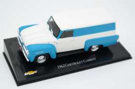 Chevrolet  - Corisco 1962 white/blue - 1:43 - Magazine Models - magCorisco - magCheCorisco | Toms Modelautos