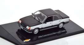 Chevrolet  - Monza  1986 black/silver - 1:43 - Magazine Models - magMonza - magCheMonzaClassic | Toms Modelautos