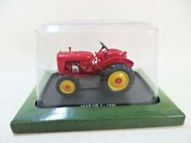 Tractor  - Map DR3 1948 red/yellow - 1:43 - Magazine Models - TRMap48 - magTRMap48 | Toms Modelautos