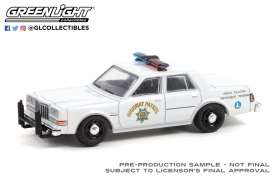 Dodge  - Diplomat white - 1:64 - GreenLight - 42970C - gl42970C | Toms Modelautos