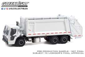 Mack  - LR Rear 2020 white - 1:64 - GreenLight - 45130B - gl45130B | Toms Modelautos