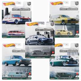 Assortment/ Mix  - Fast Wagons various - 1:64 - Hotwheels - FPY86-978B - hwmvFPY86-978B | Toms Modelautos