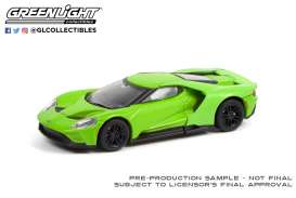 Ford  - GT 2017 green - 1:64 - GreenLight - 37230E - gl37230E | Toms Modelautos