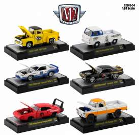 Assortment/ Mix  - various - 1:64 - M2 Machines - 32600-54 - M2-32600-54 | Toms Modelautos