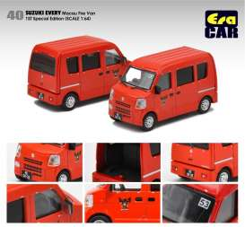 Suzuki  - Every  red - 1:64 - Era - su19everf40 - Era19EVERF40 | Toms Modelautos