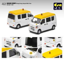 Suzuki  - Every  white/yellow - 1:64 - Era - su19evern42 - Era19EVERN42 | Toms Modelautos