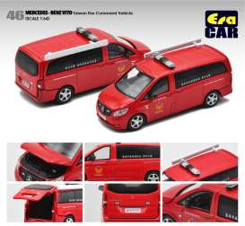 Mercedes Benz  - Vito red - 1:64 - Era - MB20VITRN46 - Era20VITRN46 | Toms Modelautos