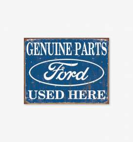 Tac Signs  - Ford blue/white - Tac Signs - D1422 - tacD1422 | Toms Modelautos
