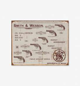 Tac Signs  - Smith & Wesson brown - Tac Signs - D1466 - tacD1466 | Toms Modelautos